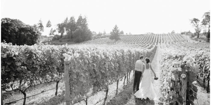 Danika + Brandon {Methven Family Vineyard Wedding | Portland Wedding Photographers}