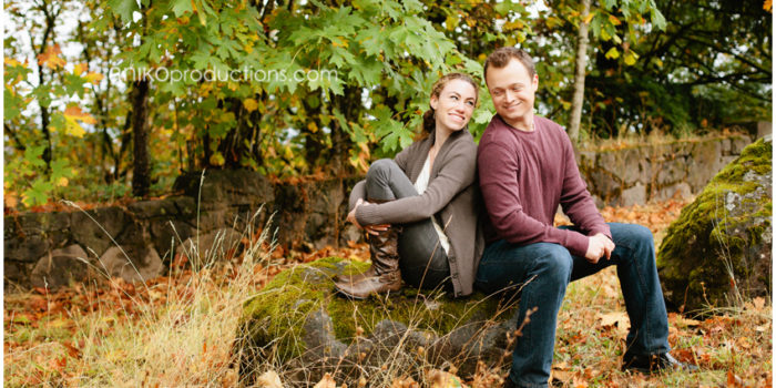 Julia + Nathan {Portland Engagement Photographers}
