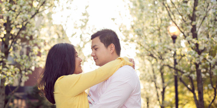 Sayako + Johnny {Portland Engagement Photographers}