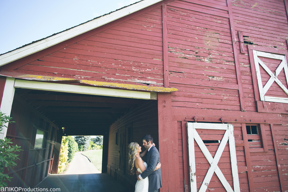Cambria & Ryan | Landgon Farm Oregon Wedding Photos