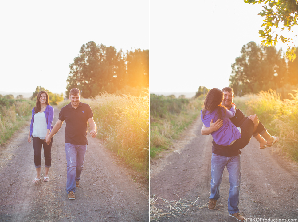 Laura + Stetson | Sauvie Island Engagement Photos