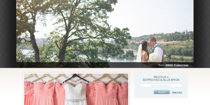 Blog Love | Lynda & Michael's Wedding Featured on Borrowed & Blue