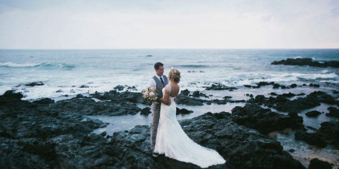 Ashley and Ricky | Kona, Hawaii Wedding Photos