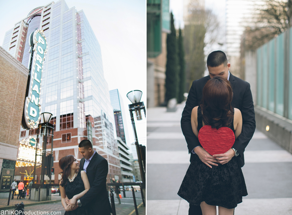 Carissa and Bobby | Portland Engagement Photos