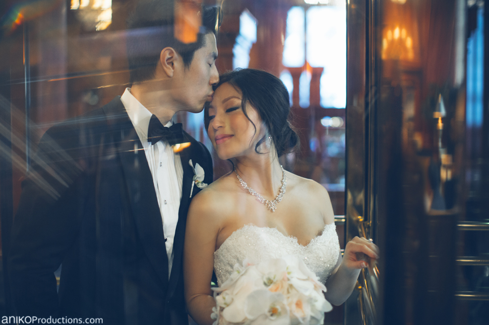Phing and Richard | Benson Hotel Winter Wedding in Portland
