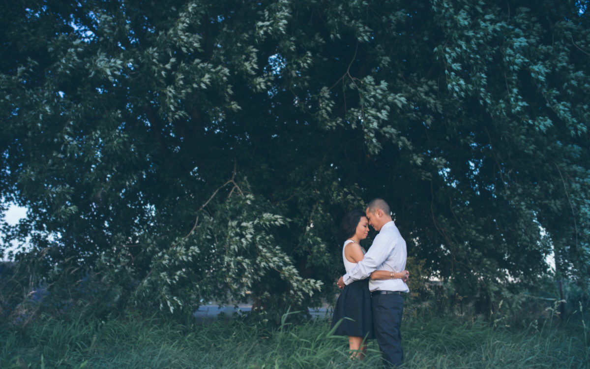 Mabel & Tony's Sauvie Island Engagement Photos