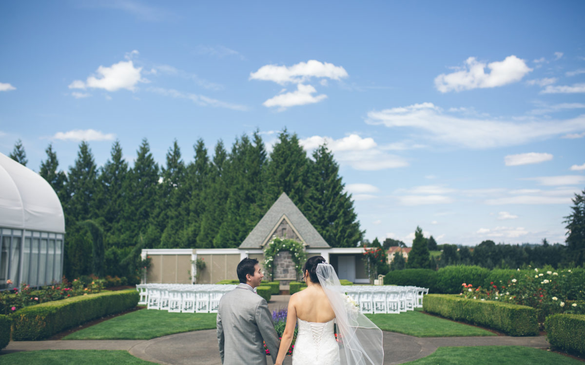 Nancy & Wayne Oregon Golf Club Wedding