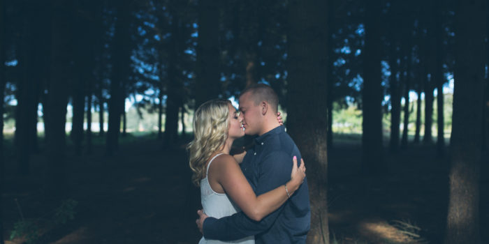 Molly & Nate | Sauvie Island Engagement Photos