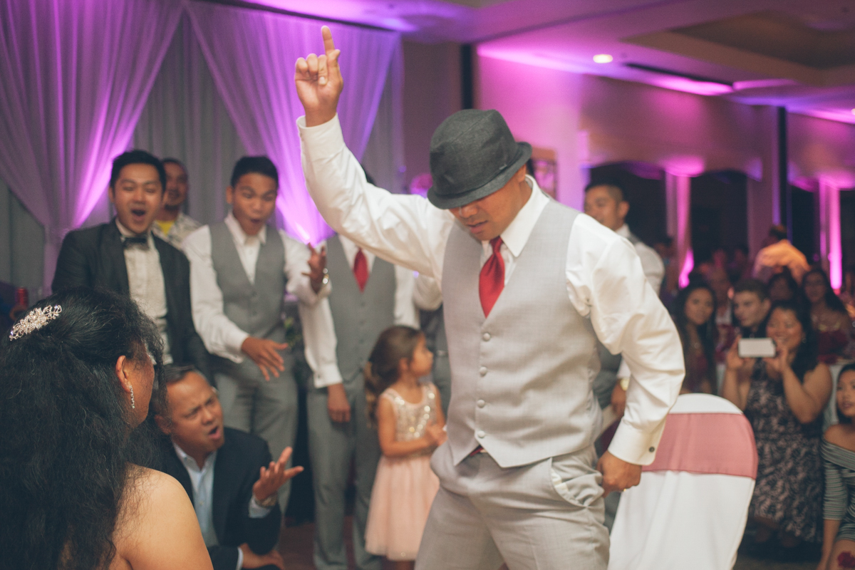 groom choreographed dance for garter belt
