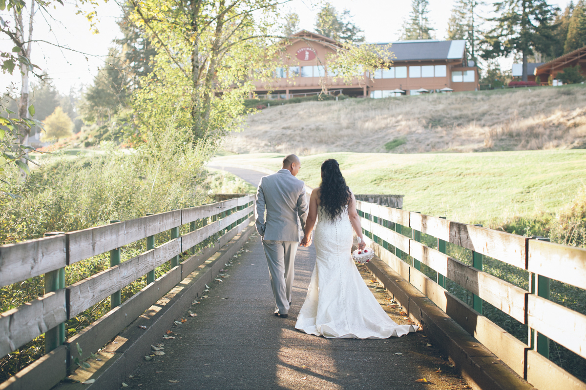persimmon country club oregon wedding pics
