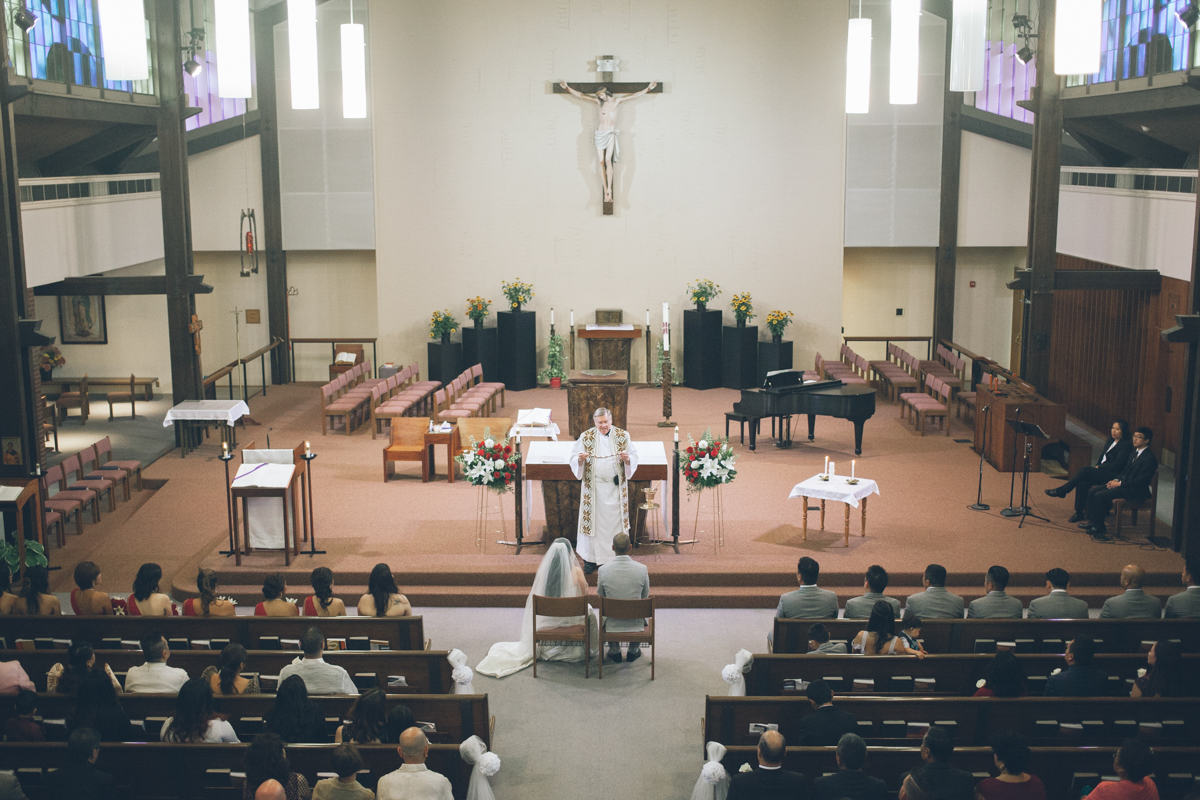 filipino catholic church wedding ceremony