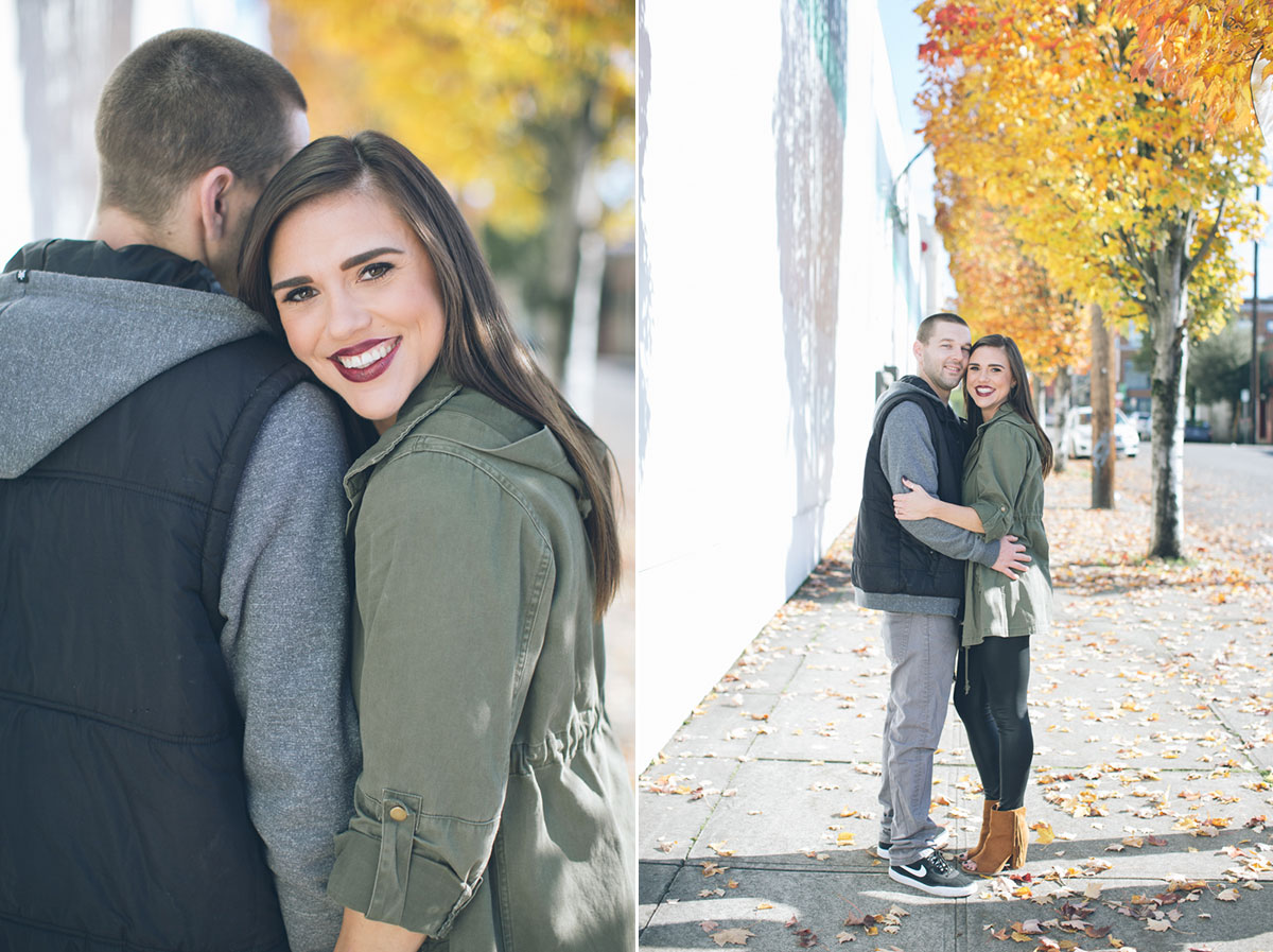 engagement photos in portland oregon