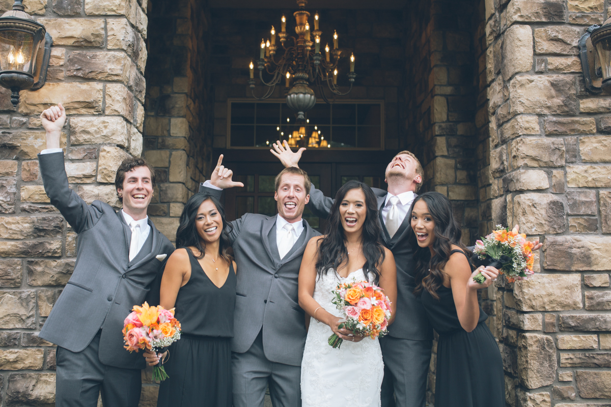 small bridal party