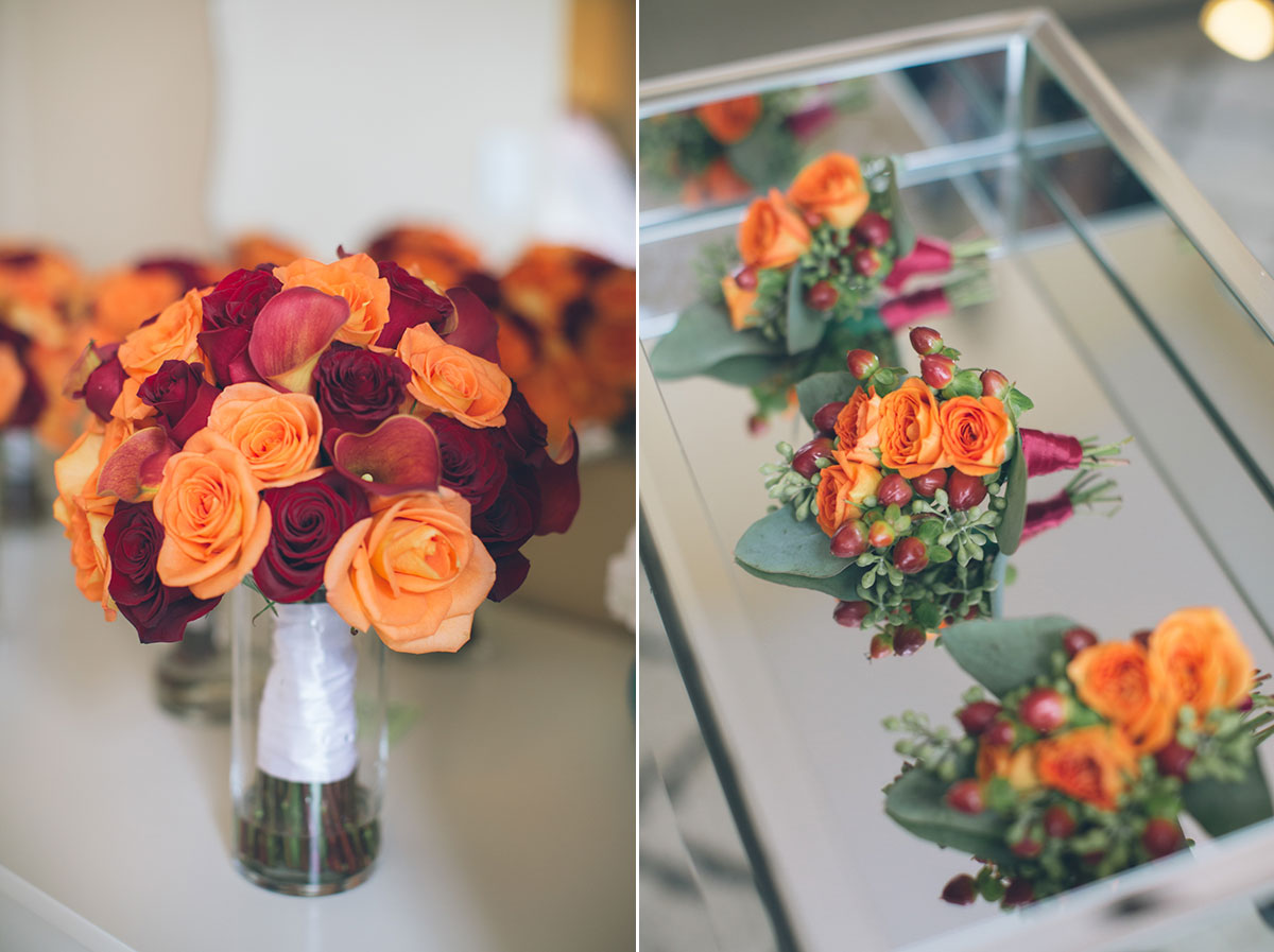 floral arrangements for fall wedding