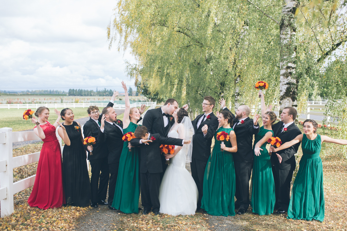 langdon farms oregon wedding images