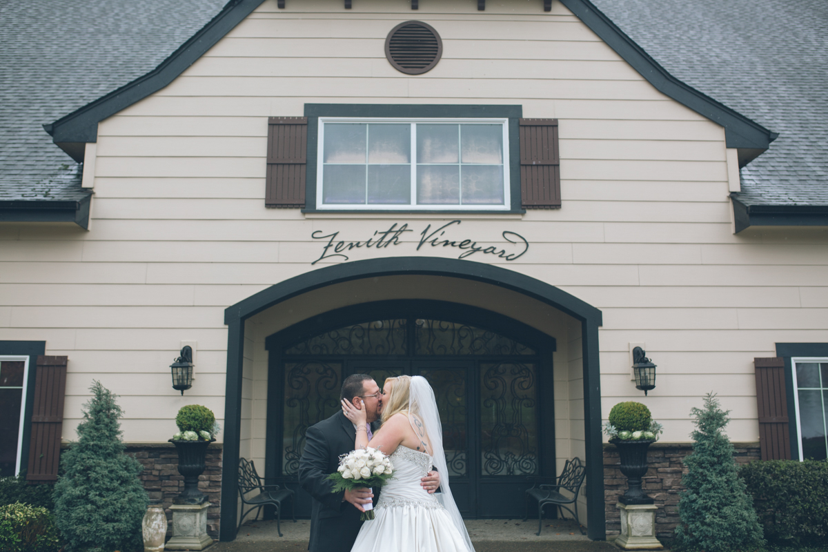 zenith vineyard wedding images