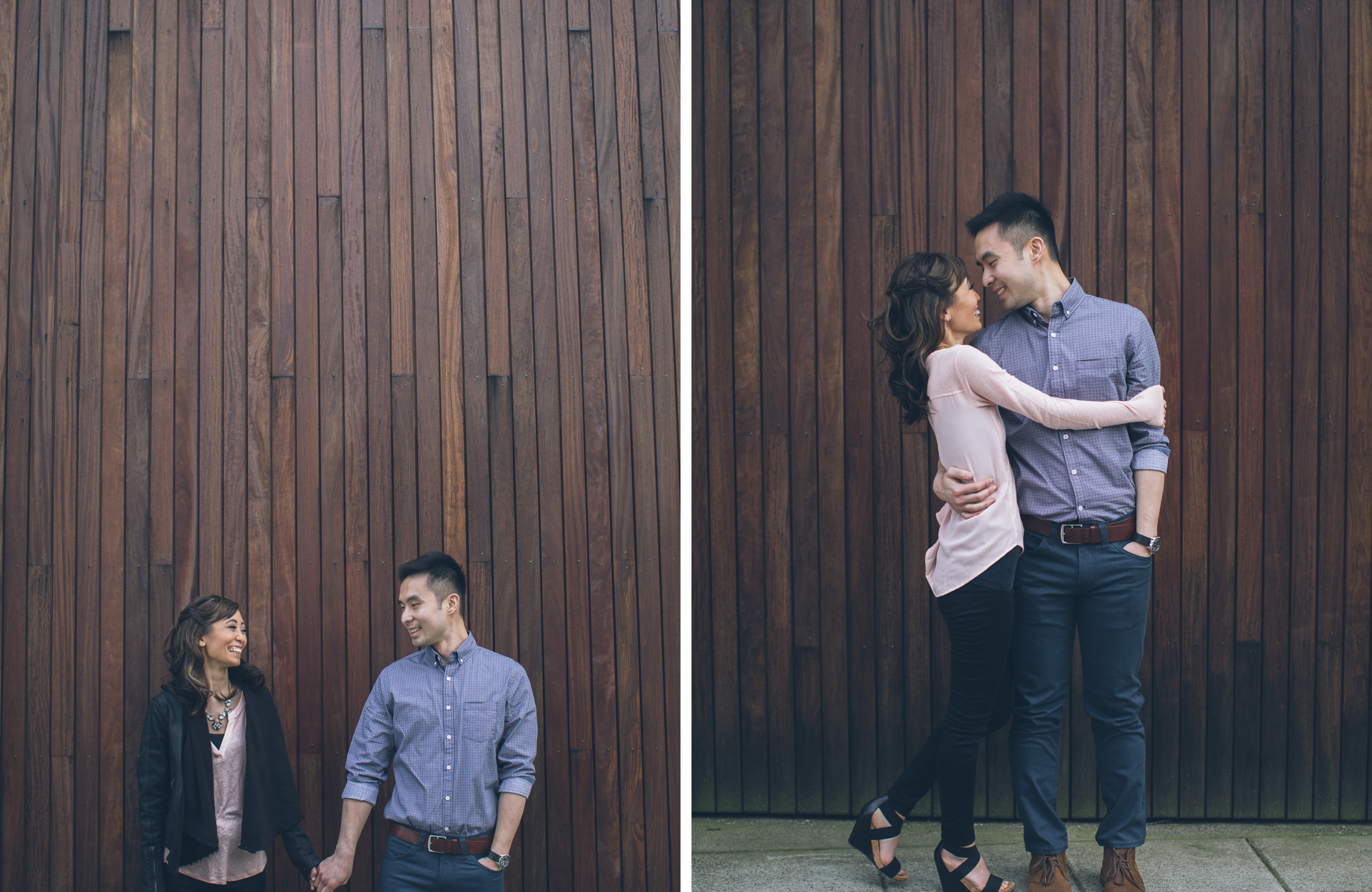downtown portland pdx engagement photos photographers dock rooftop hawthorne bridge