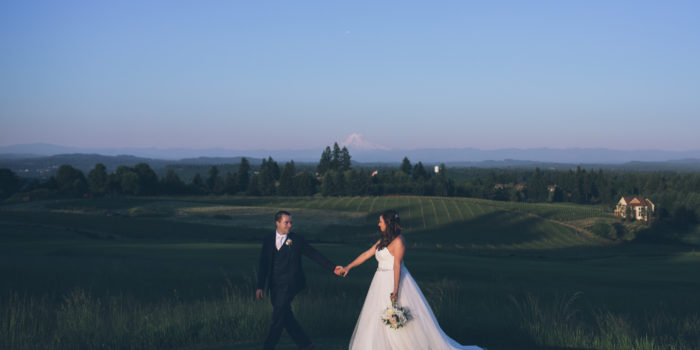 oregon golf club wedding sunset mt hood photography photos aniko