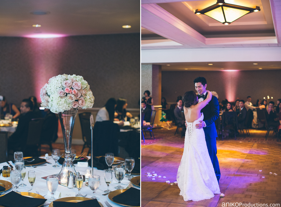 Benson Hotel Wedding Portland Reception6