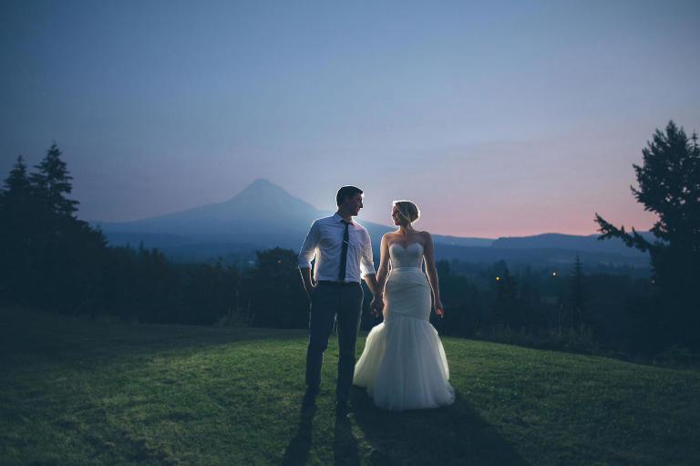 Best Portland Oregon Wedding Photographers Mt Hood